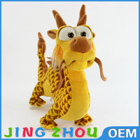 30cm Long Chinese Character Dragon Plush Toy Wholesale, Stuffed Animals Dragon, Plush Stuffed Dragon Toys