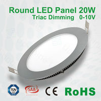 19mm super slim led panel light CRI>80 high brightness smd triac dimmable led back light panel