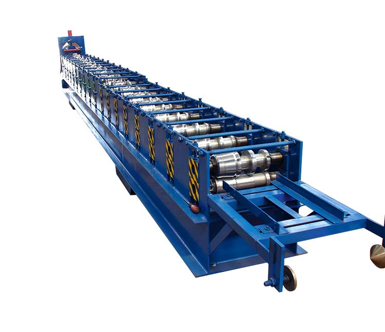 new design 2017 canton fair xinnuo metal seamless rain gutter cold roll forming machine