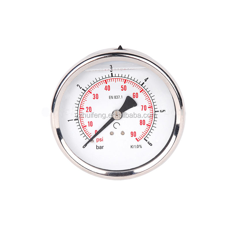 Bimetal Instant Reading Dial Industrial Equipment Pressure Gauge Thermometer