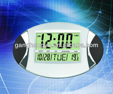 Desktop Weather Station Clock With Alarm Forecasts & Graph Temperature & Humidity Display Clock
