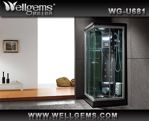 factory temper fashional outdoor shower steam room with sauna/lowes bathtubs showers