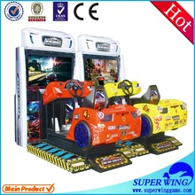"47""LCD wasteland drift full-motion driving car games 3d 2 player games"