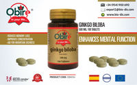 Ginkgo Biloba 500 mg 100 Tablets - Food supplement