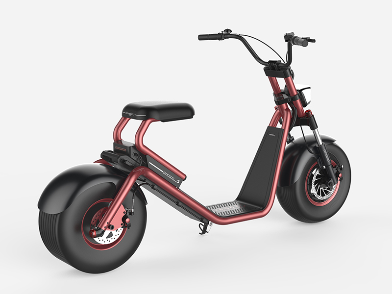 EEC approved electric motorcycle citycoco
