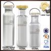 500ml Sport vacuum thermos flask water bottle with double wall stainless steel