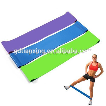 100% Latex crossfit power resistance band workout loop band