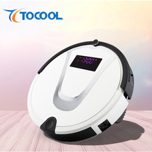 Robot Installation and Dry Function Robot Vacuum Cleaner, Automatic Rechargeable Intelligent Cyclone Robot