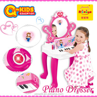 2015 preschool education toys for girls game with piano