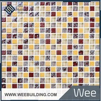 Broken Glass Mosaic Mix Stone Tile Item: MG-4B10