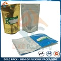 Aluminum Foil Custom Printing Heat Seal Zip Lock Bag With Silver Mylar For food