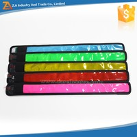 Wholesale Price 4*35cm Various Colors Reflective LED Lighting Arm Bands ReflectiveArmband