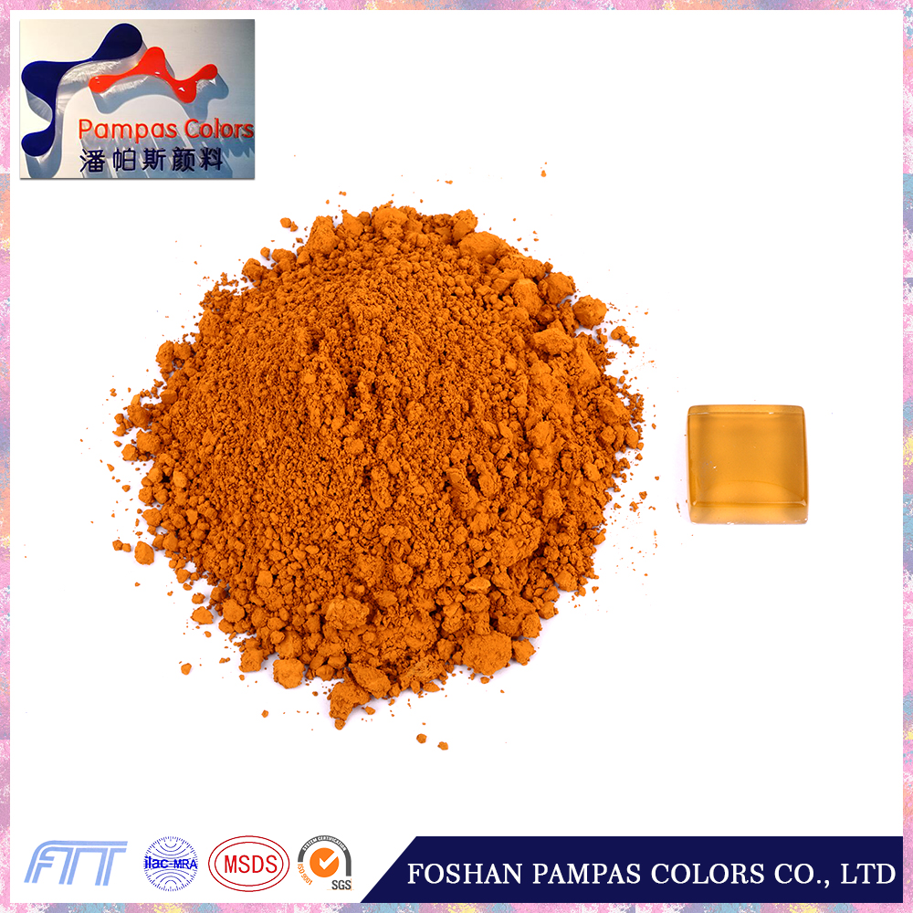 Foshan Pampas Wholesaler Supply Yellow Ceramics Pigment Stain Powder