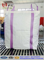 Virgin PP super sacks,FIBCS,PP bulk bag,Color printing big bag 1500kg for fertilizer /chemical /rice/ grain /sugar /cement /flou