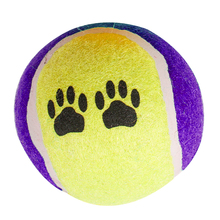 wholesale soft rubber tennis ball for dog