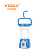 Rechargeable portable outdoor led solar camping lantern with new design