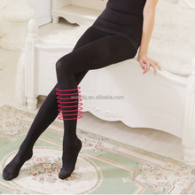 420D Medical Compression Lycra Elastic Women Opaque Footed Tights