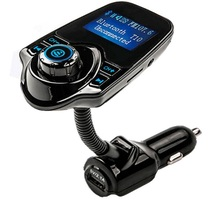 Bluetooth MP3 Player Handsfree Car Kit + USB Charger + FM Transmitter + Handsfree with Micro SD/TF Card