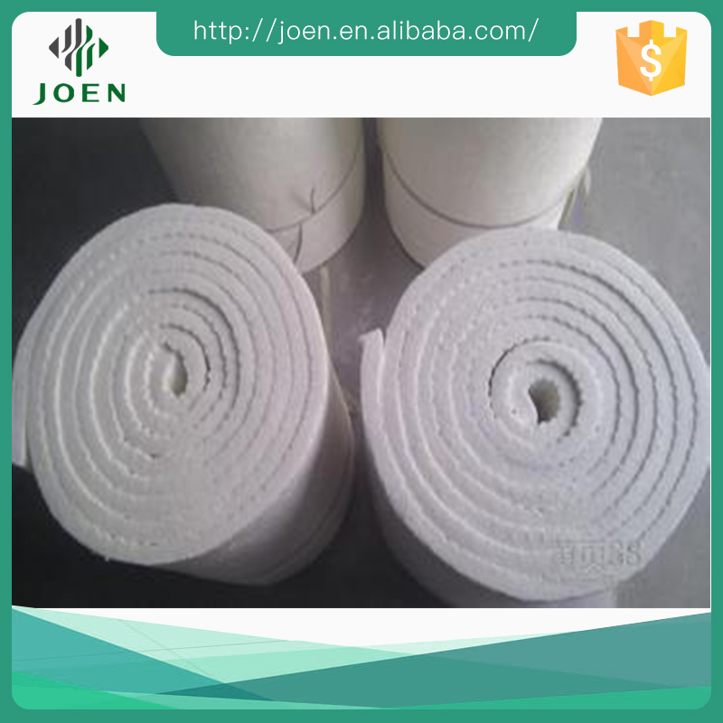 thermal insulation, fireproof and sound absorption 1260 ceramic fiber wool blanket cloth