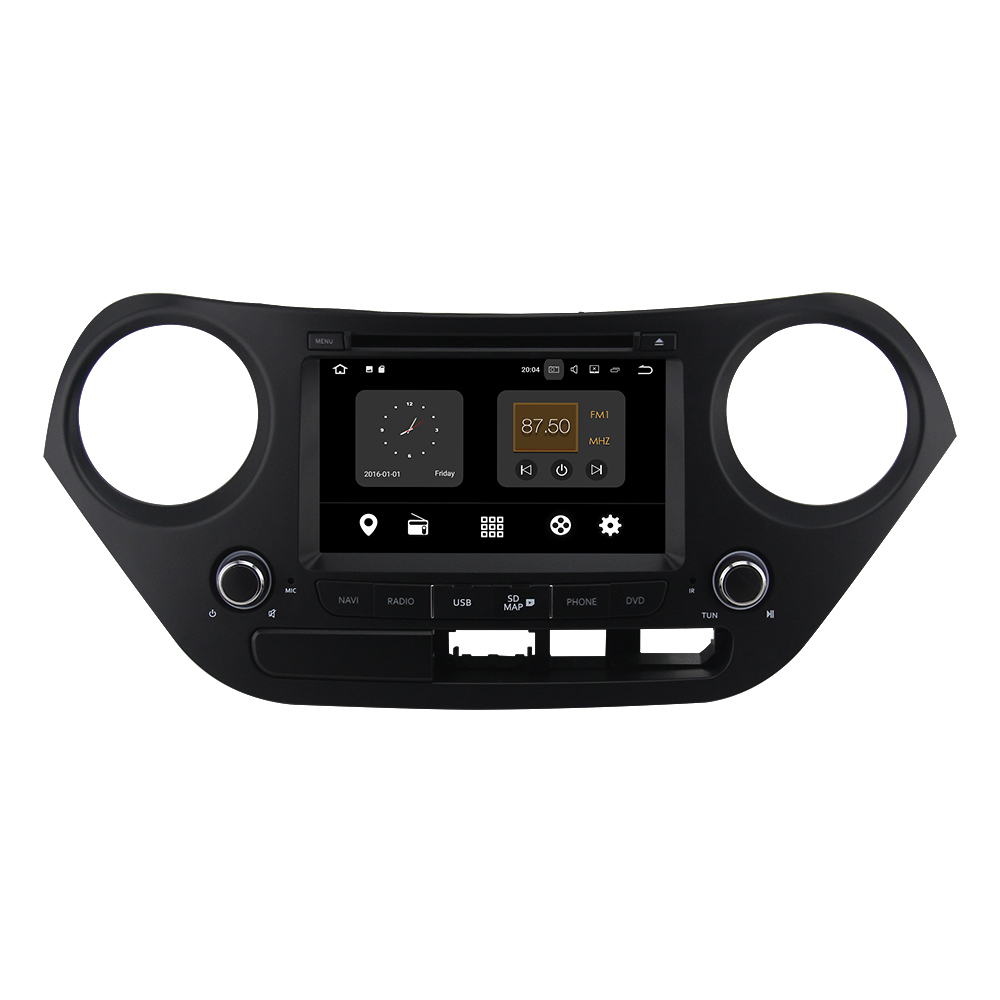 ZETSTECH 7 Inch RAM 2G QUAD CORE Android 7.1 Car Stereo CD DVD Player GPS Navigation for HYUNDAI I10 2013