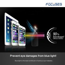 anti-blue ray eye sight protective tablet screen glass for iPad mini blue light filter tempered glass screen protector