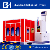 ISO&CE car spray booth paint booth baking booth painting baking oven