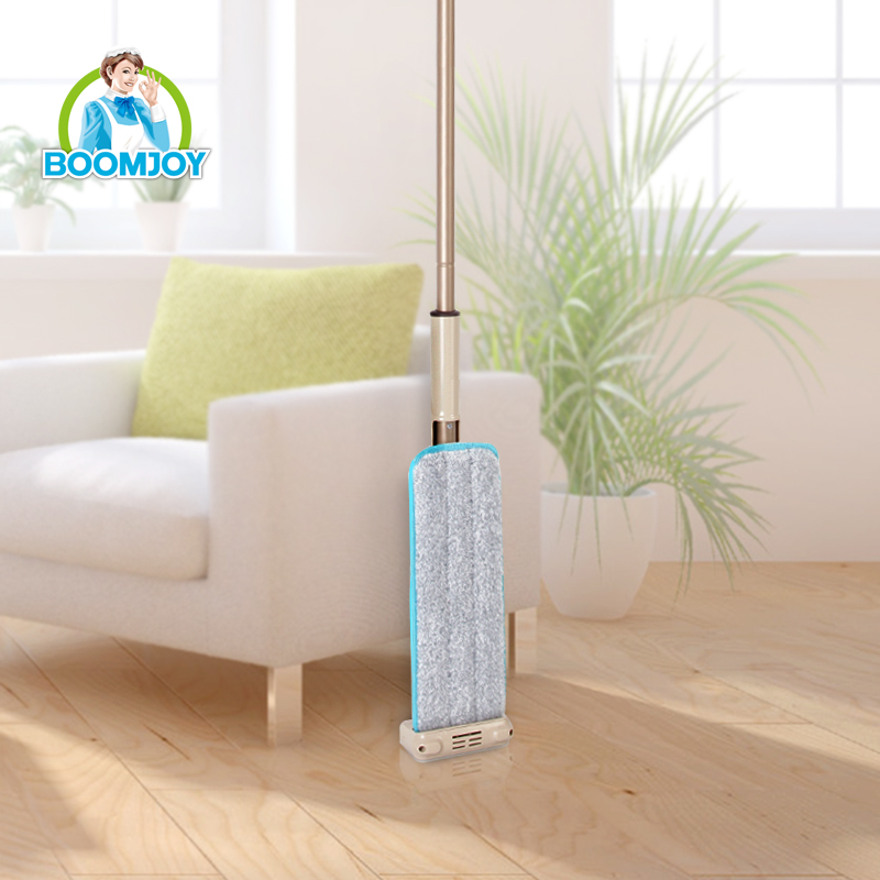 BOOMJOY FC-44 Hot sale hand free 360 rotation telescopic flat mop/ microfiber cleaning mop