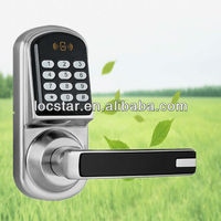 digital pin code lock also can unlock by rf card, digital combination lock