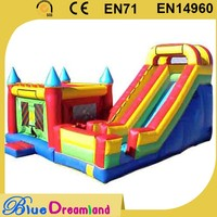 Durable fun city inflatable combo games