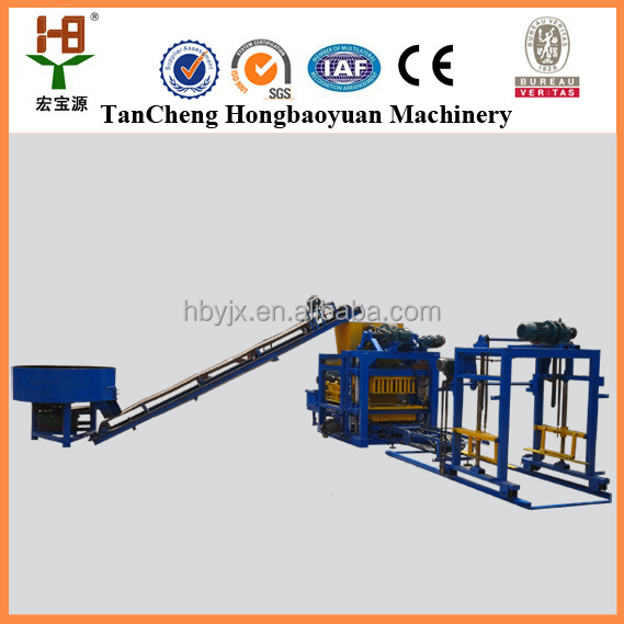 Production line machines low price QTJ4-25 D sand lime solid brick making machine united arab emirates