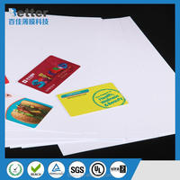 New plastic products inkjet printing pvc sheet for credit card