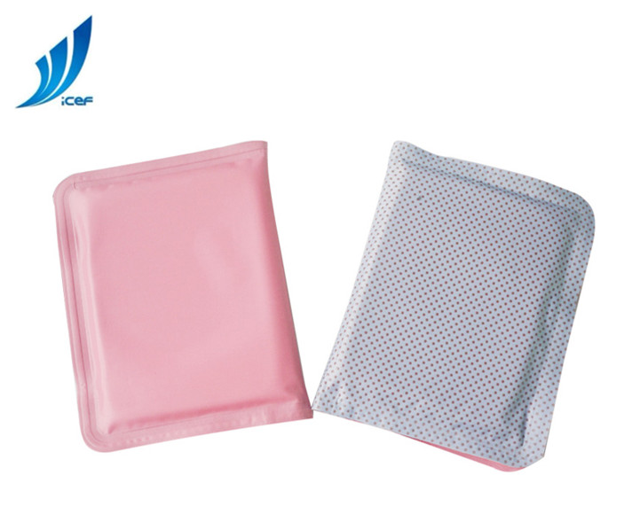 Sponge pink gel dog cooling mat for pet