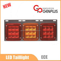 24V LED tail light ECE Rear combination lamp for truck bus taillight