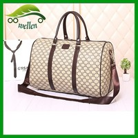 2015 Fancy travel high quality rolling duffel bags