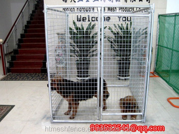 Welded cheap hot dipped galvanzied dog kennels with Ceiling Available