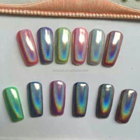 Rainbow Pearl Holographic Pigment Holographic Nail