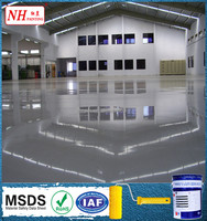 epoxy multi-layer concrete floor paint anti-static coating