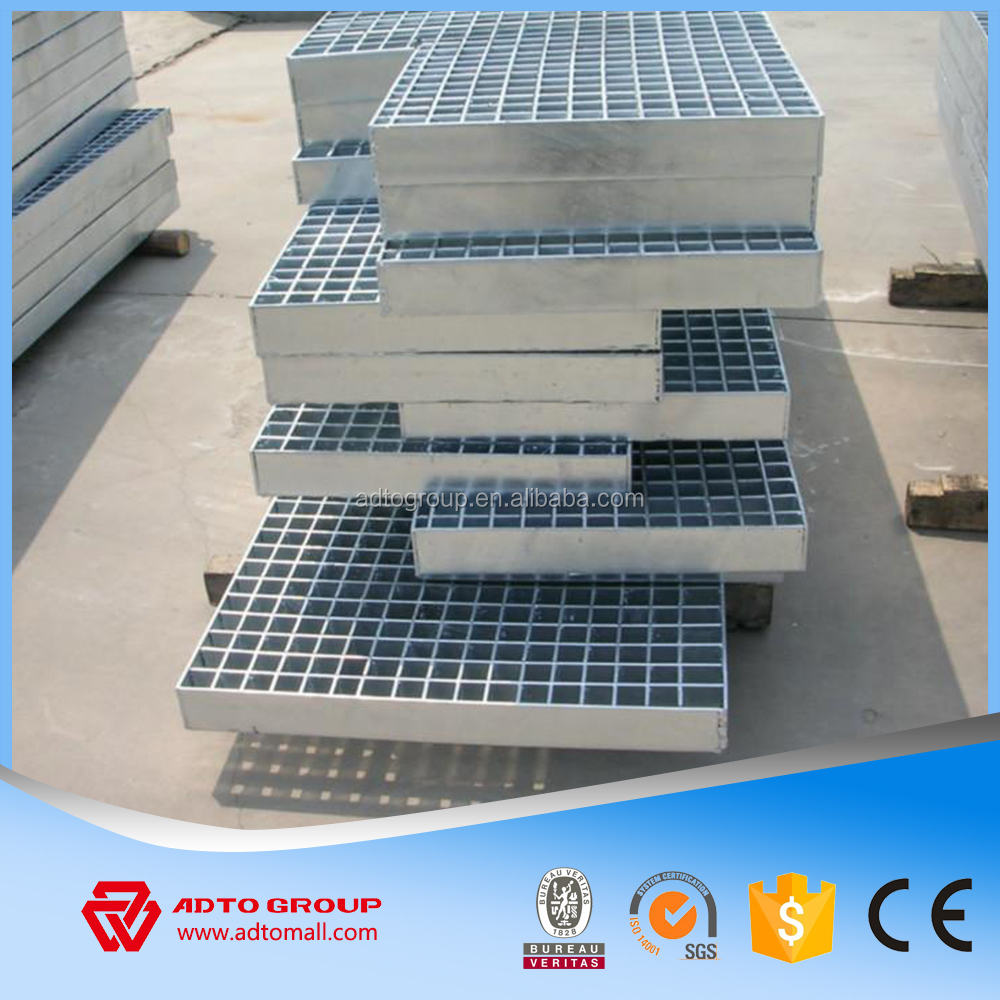 Multifuction Used Steel Grating Welded Steel Bar Grating Heavy Duty Standard Size Weight For Walkway/Flooring/Ramps
