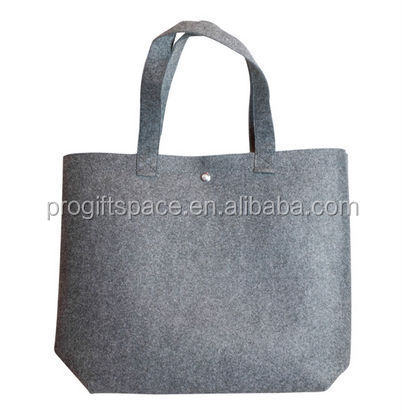 2017 alibaba china suppliers best selling new products eco friendly durable custom logo bag felt brand handbag made in china