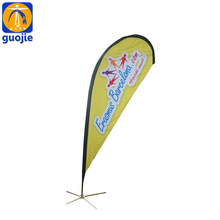 Advertising Banner printing, Blade Wind Flag banner beach flag teardrop flag