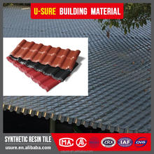 fireproof roof PVC composite interlocked shingle roof tile tile