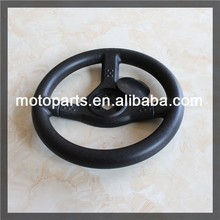 265mm outer diameter steering wheel go kart high mounting holes racing steering wheel