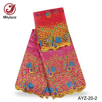 Wholesale price new bazin african clothing embroidery guinea brocade women dress bazin fabric