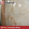 Newstar polished pure white onix slab