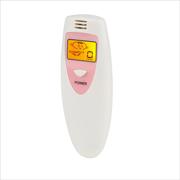 Bad breath tester with LCD light/Protable fashional gift for Odor fresh Tester 200 red