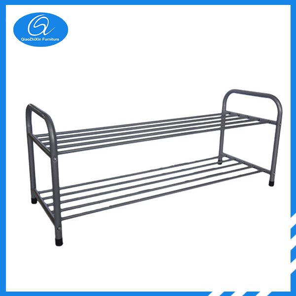 Two Tier Iron Shoe Rack