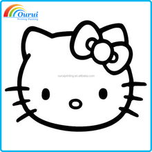 About Hello Kitty Car Art Vinyl Decal