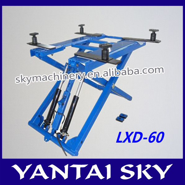 2014 new product china lifts atv/garage car elevator/car scissor lift