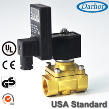 220V AC Direct Acting Solenoid Water Valve with Adjustable Timer
