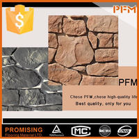 Slate Decoractive Wall Panels machine cut rectangle rustic slate paving stone